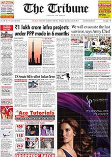 Tribune Classified Ads Booking Online - Myadvtcorner